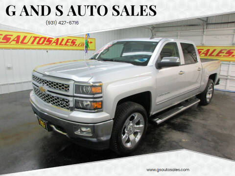 2014 Chevrolet Silverado 1500 for sale at G and S Auto Sales in Ardmore TN