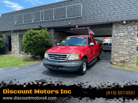 2000 Ford F-150 for sale at Discount Motors Inc in Old Hickory TN