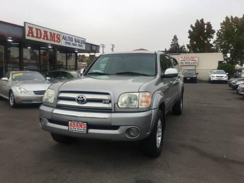 2005 Toyota Tundra for sale at Adams Auto Sales in Sacramento CA