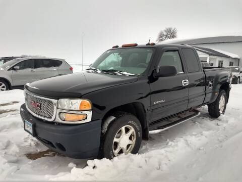 2004 GMC Sierra 1500 for sale at RDJ Auto Sales in Kerkhoven MN