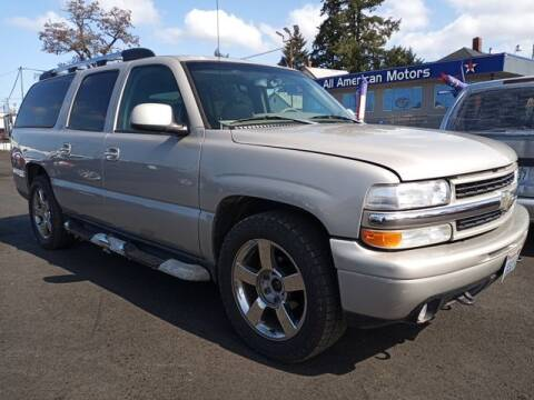 2006 Chevrolet Suburban for sale at All American Motors in Tacoma WA