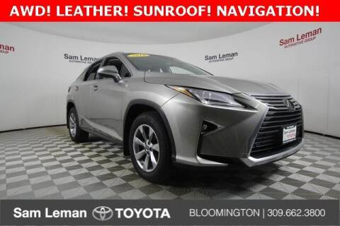 2019 Lexus RX 350 for sale at Sam Leman Toyota Bloomington in Bloomington IL