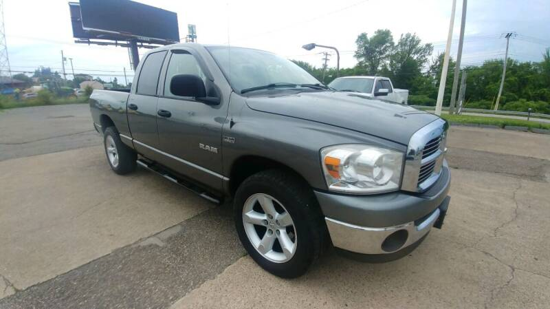 2008 Dodge Ram Pickup 1500 for sale at AutoBoss PRE-OWNED SALES in Saint Clairsville OH