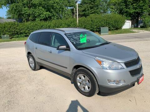 2010 Chevrolet Traverse for sale at GREENFIELD AUTO SALES in Greenfield IA