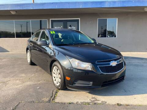 2011 Chevrolet Cruze for sale at AUTO NATIX in Tulare CA
