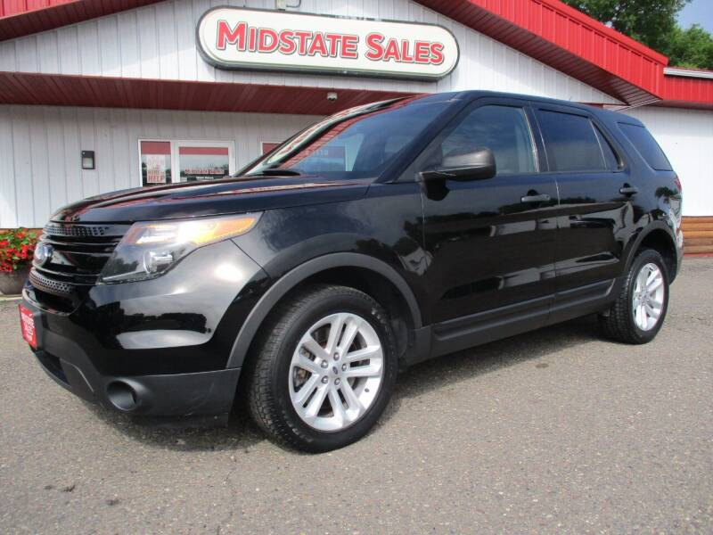 2013 Ford Explorer for sale at Midstate Sales in Foley MN
