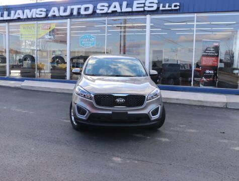 2018 Kia Sorento for sale at Williams Auto Sales, LLC in Cookeville TN