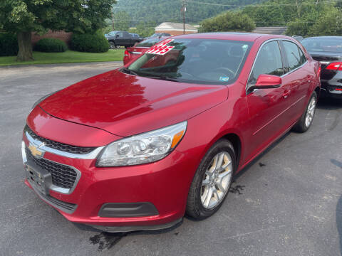 2014 Chevrolet Malibu for sale at Chilson-Wilcox Inc Lawrenceville in Lawrenceville PA