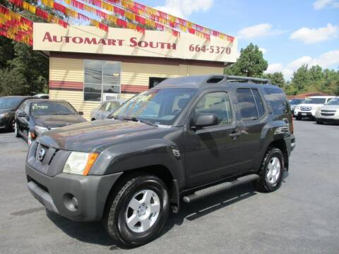 2007 Nissan Xterra for sale at Automart South in Alabaster AL