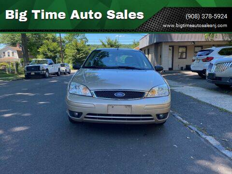 2006 Ford Focus for sale at Big Time Auto Sales in Vauxhall NJ