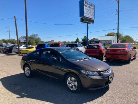2013 Honda Civic for sale at AFFORDABLY PRICED CARS LLC in Mountain Home ID