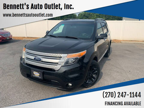 2014 Ford Explorer for sale at Bennett's Auto Outlet, Inc. in Mayfield KY