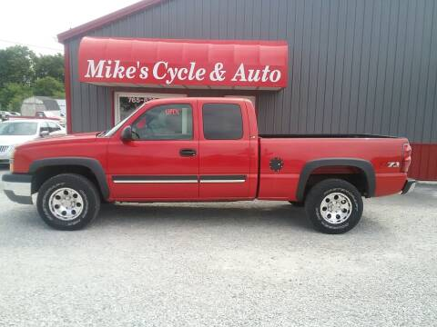 2003 Chevrolet Silverado 1500 for sale at MIKE'S CYCLE & AUTO in Connersville IN