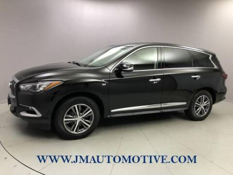 2016 Infiniti QX60 for sale at J & M Automotive in Naugatuck CT