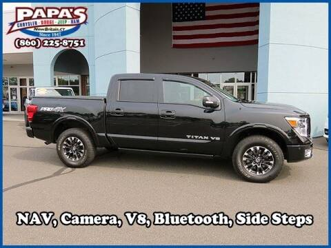 2019 Nissan Titan for sale at Papas Chrysler Dodge Jeep Ram in New Britain CT