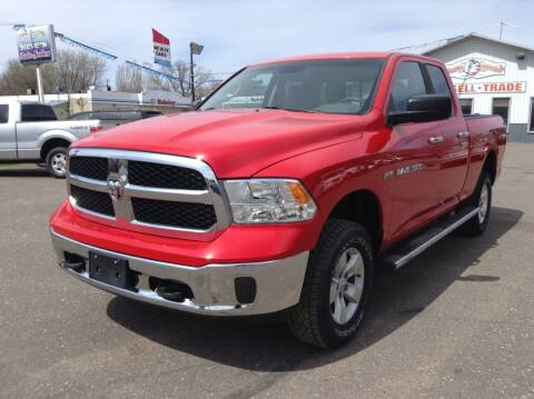 2014 RAM Ram Pickup 1500 for sale at Steves Auto Sales in Cambridge MN