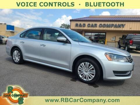 2014 Volkswagen Passat for sale at R & B Car Co in Warsaw IN