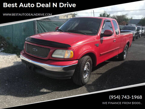 2003 Ford F-150 for sale at Best Auto Deal N Drive in Hollywood FL
