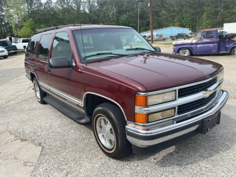 1999 Chevrolet Tahoe for sale at Elite Motor Brokers in Austell GA