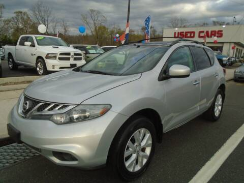 2012 Nissan Murano for sale at Island Auto Buyers in West Babylon NY