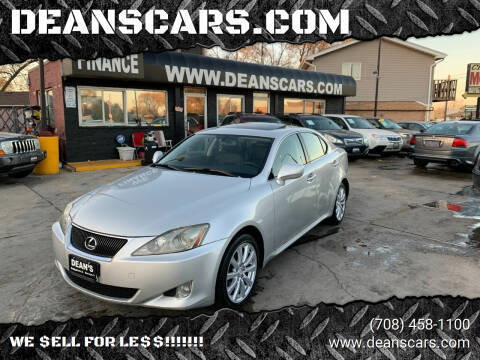 2006 Lexus IS 250 for sale at DEANSCARS.COM in Bridgeview IL