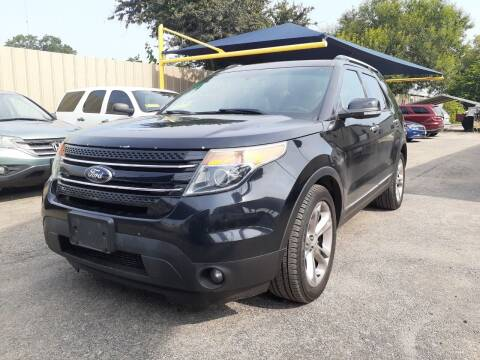 2014 Ford Explorer for sale at Midtown Motor Company in San Antonio TX