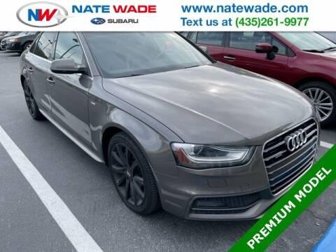 2014 Audi A4 for sale at NATE WADE SUBARU in Salt Lake City UT