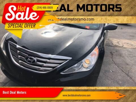 2013 Hyundai Sonata for sale at Best Deal Motors in Saint Charles MO