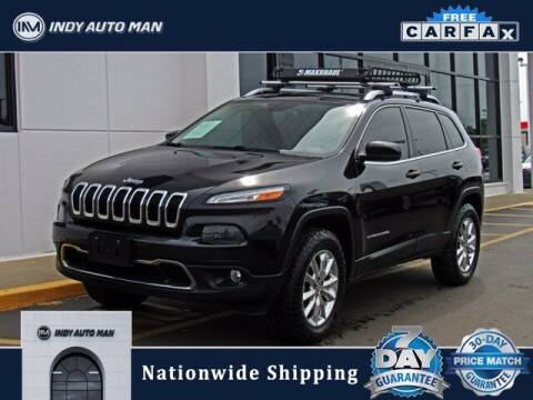 2014 Jeep Cherokee for sale at INDY AUTO MAN in Indianapolis IN