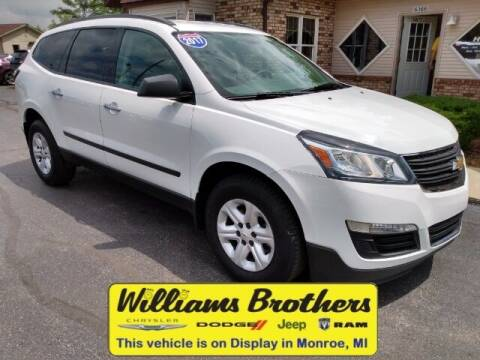 2017 Chevrolet Traverse for sale at Williams Brothers - Pre-Owned Monroe in Monroe MI