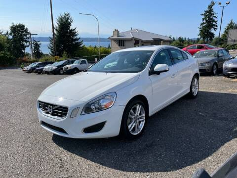 2013 Volvo S60 for sale at KARMA AUTO SALES in Federal Way WA