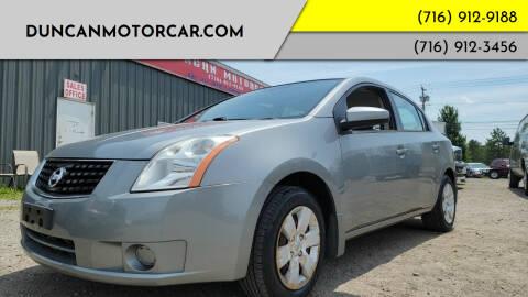 2008 Nissan Sentra for sale at DuncanMotorcar.com in Buffalo NY