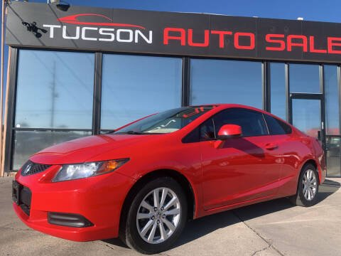 2012 Honda Civic for sale at Tucson Auto Sales in Tucson AZ