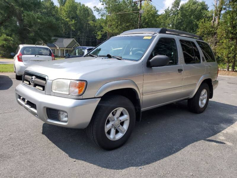 2003 Nissan Pathfinder for sale at Tri State Auto Brokers LLC in Fuquay Varina NC
