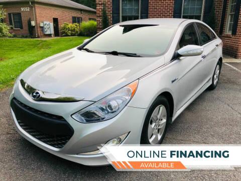 2012 Hyundai Sonata Hybrid for sale at White Top Auto in Warrenton VA