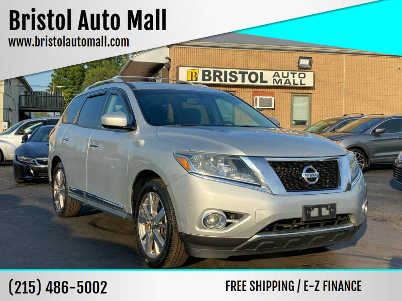 2013 Nissan Pathfinder for sale at Bristol Auto Mall in Levittown PA