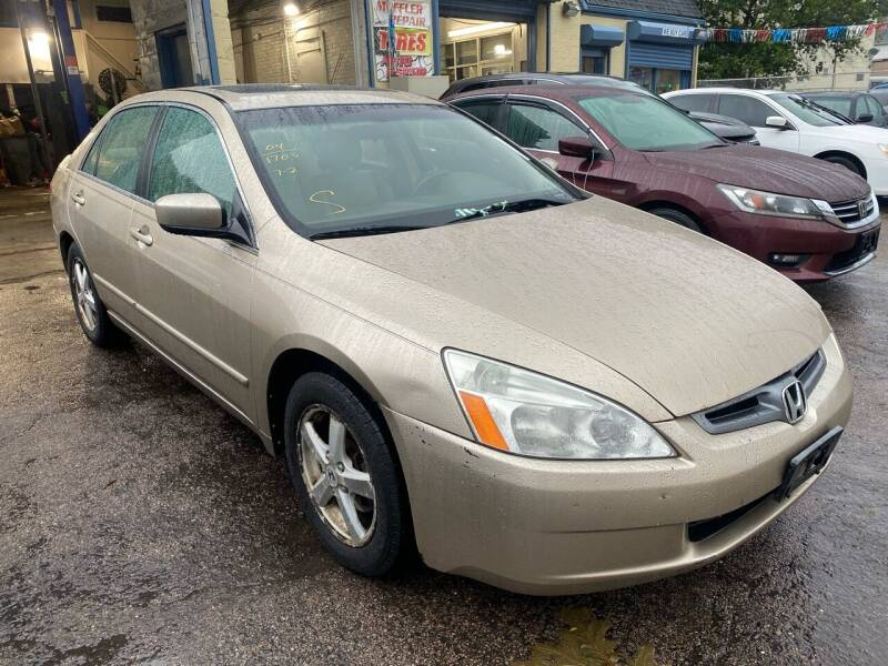 2004 Honda Accord for sale at Polonia Auto Sales and Service in Hyde Park MA