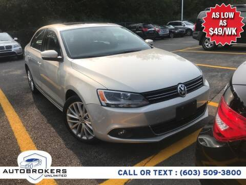 2011 Volkswagen Jetta for sale at Auto Brokers Unlimited in Derry NH