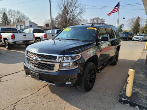 2018 Chevrolet Tahoe for sale at Clare Auto Sales, Inc. in Clare MI