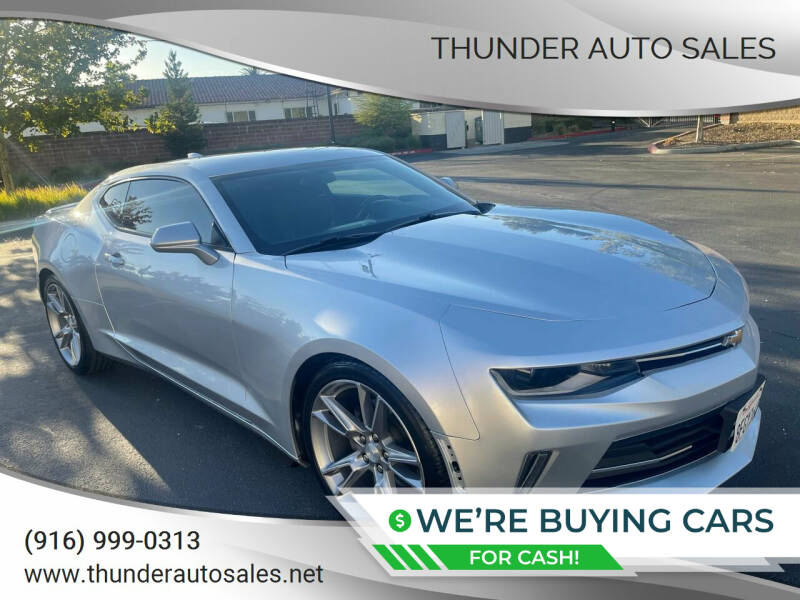 2017 Chevrolet Camaro for sale at Thunder Auto Sales in Sacramento CA