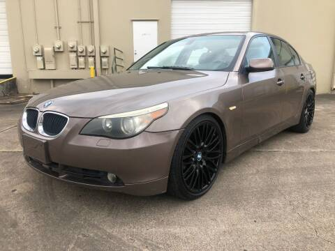 2004 BMW 5 Series for sale at The Auto & Marine Gallery of Houston in Houston TX