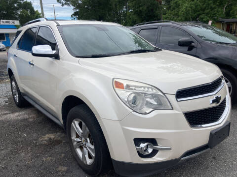 2012 Chevrolet Equinox for sale at The Peoples Car Company in Jacksonville FL