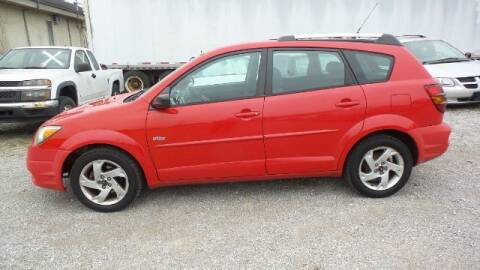 2004 Pontiac Vibe for sale at Tates Creek Motors KY in Nicholasville KY