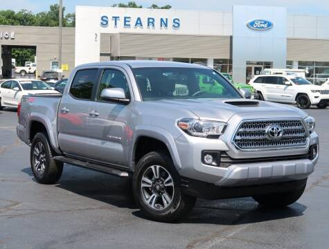 2017 Toyota Tacoma for sale at Stearns Ford in Burlington NC