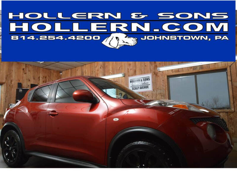 2011 Nissan JUKE for sale at Hollern & Sons Auto Sales in Johnstown PA