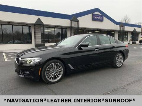 2018 BMW 5 Series for sale at Impex Auto Sales in Greensboro NC