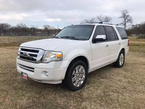 2012 Ford Expedition for sale at LA PULGA DE AUTOS in Dallas TX