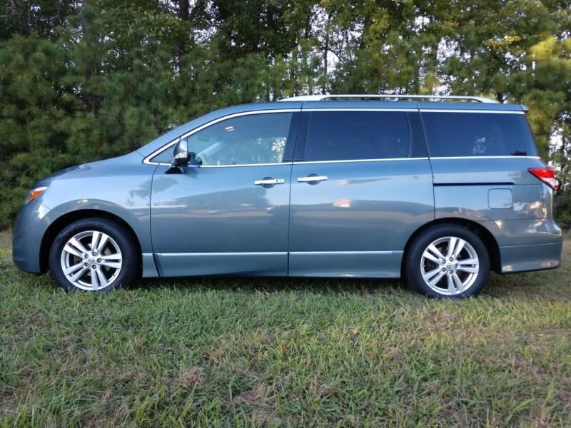 2011 Nissan Quest for sale at Harris Motors Inc in Saluda VA