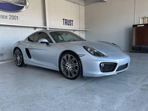 2016 Porsche Cayman for sale at TANQUE VERDE MOTORS in Tucson AZ