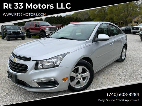2015 Chevrolet Cruze for sale at Rt 33 Motors LLC in Rockbridge OH